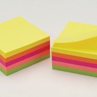 Repositionable Note Pads, Neon