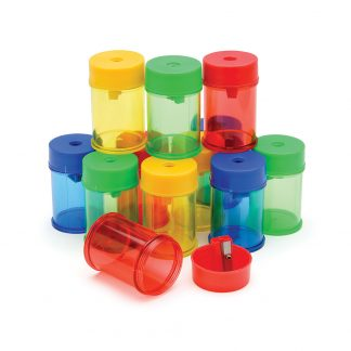 single hole canister sharpeners in a variety of colours