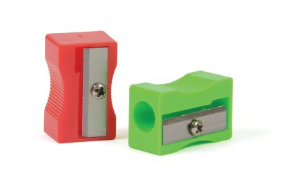Single-Hole Plastic Pencil Sharpeners