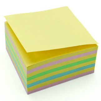 Recycled Pastel Repositionable Notes