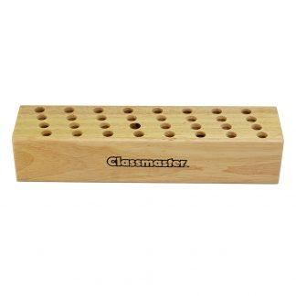 Classmaster Wooden Scissor Block with 32 holes for scissors