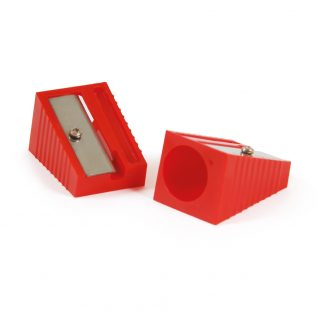 Jumbo Single Hole Sharpeners in a Pack of 10, ideal for chunky and jumbo pencils