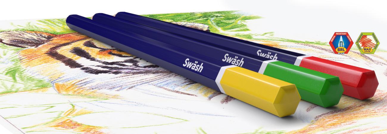 Hexagonal Colouring Pencils