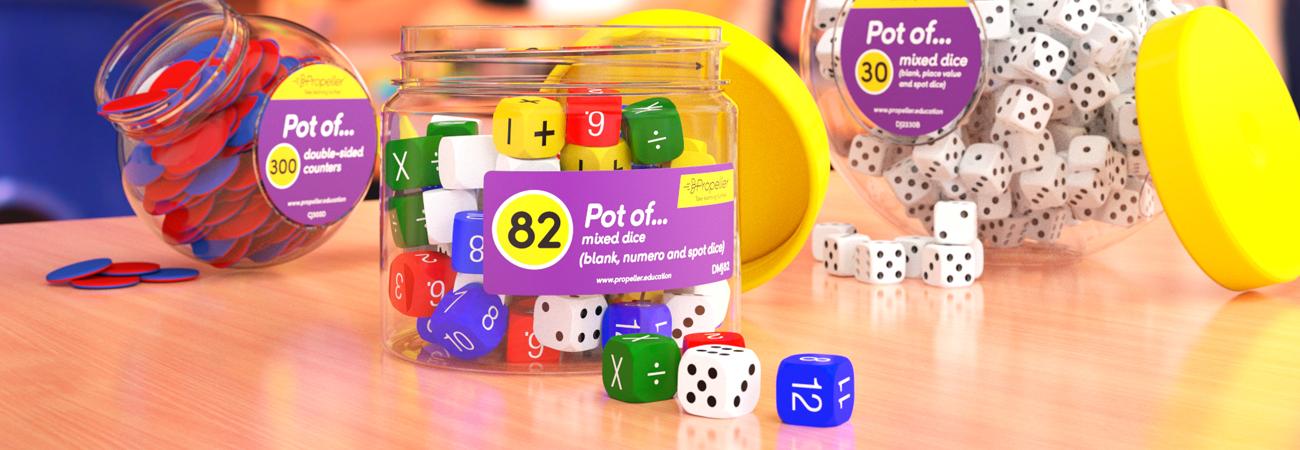 Pots of...